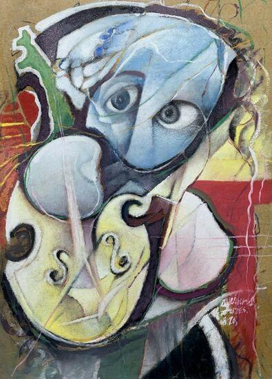 Photo de l'oeuvre 999-1049 - Résonance de ton violon