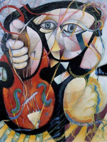 Photo de l'oeuvre 999-1047 Le violoniste